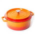 Nardelli Enameled Cast Iron Dutch Oven - 5 Quart