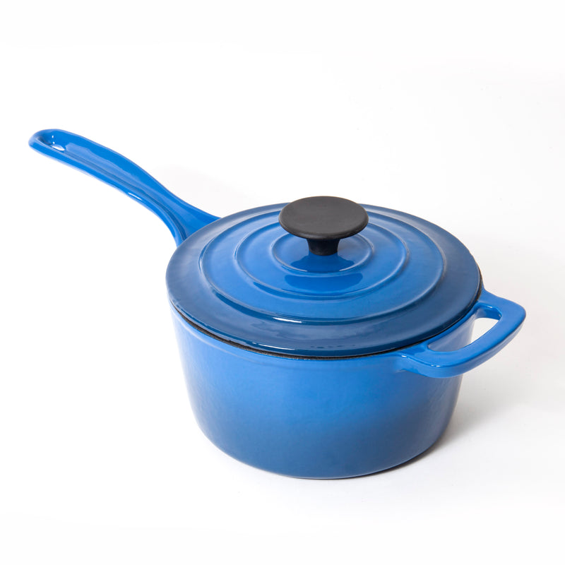 Nardelli Enameled Cast Iron Saucepan - 2 Quart
