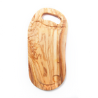 Nardelli Olive Wood Board with Groove and Hole Handle 16
