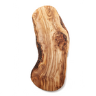 Nardelli Olive Wood Cheese Appetizer Curved Board