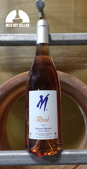 Yohann Moreno rosé, into my cellar, vente de vin nature