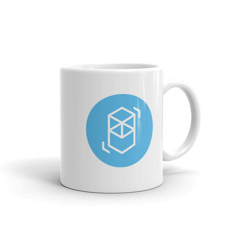 Fantom Blue Circle Mug