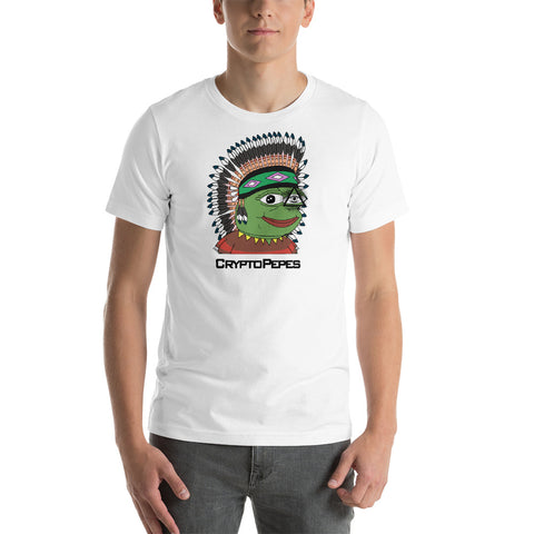 CryptoPepe 4 Short-Sleeve T-Shirt