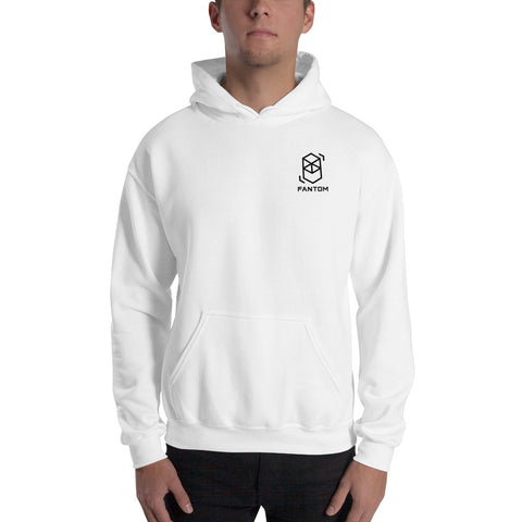 Fantom Hooded Sweatshirt w/ Logo on Back