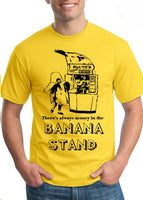 arrested developement banana stand tee shirt