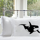 Killer Whale Standard Nautical Pillowcase