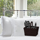 Brown basket black dog Toto NEW pillowcase pair set the pillow cover case bedroom decor