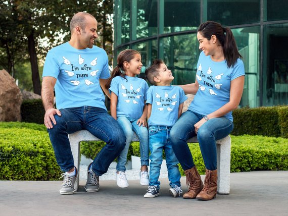 Blue - disney family shirts, I'M WITH THEM, disney squad, let's do this, Matching Outfit, disney matching shirts, mommy and me, ladies blue group