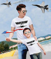 eb36ab5a ... 2 White shirts | Father Son Matching Shirts | Maverick And Goose | Father  Son combo