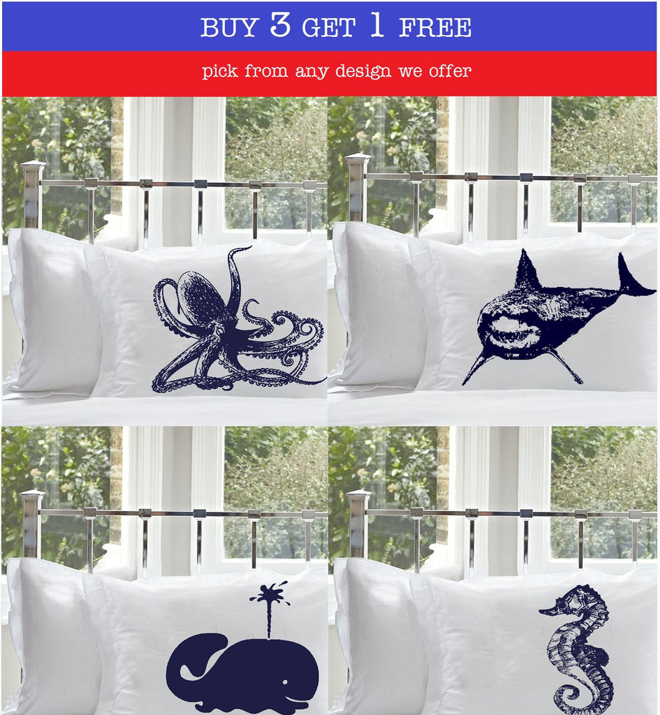 Buy 3 Get 1 Free Pillowcases pillow covers