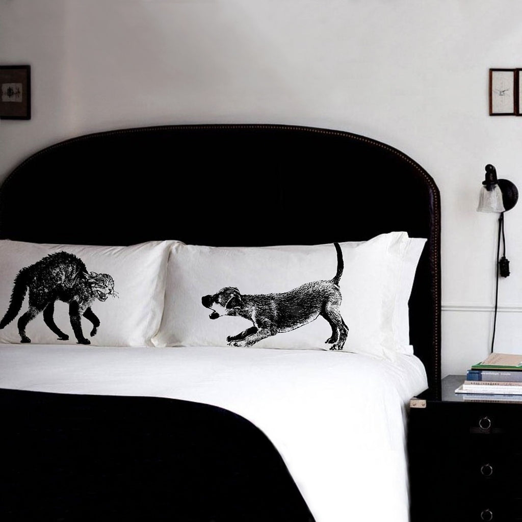 cat and dog pillowcases