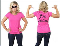 Pink Ladies Women Tee Shirt