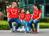 Red - disney family shirts, I'M WITH THEM, disney squad, let's do this, Matching Outfit, disney matching shirts, mommy and me, ladies red group