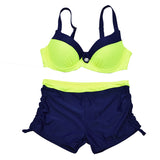 Plus Size Push Up Bathing Suit Shorts