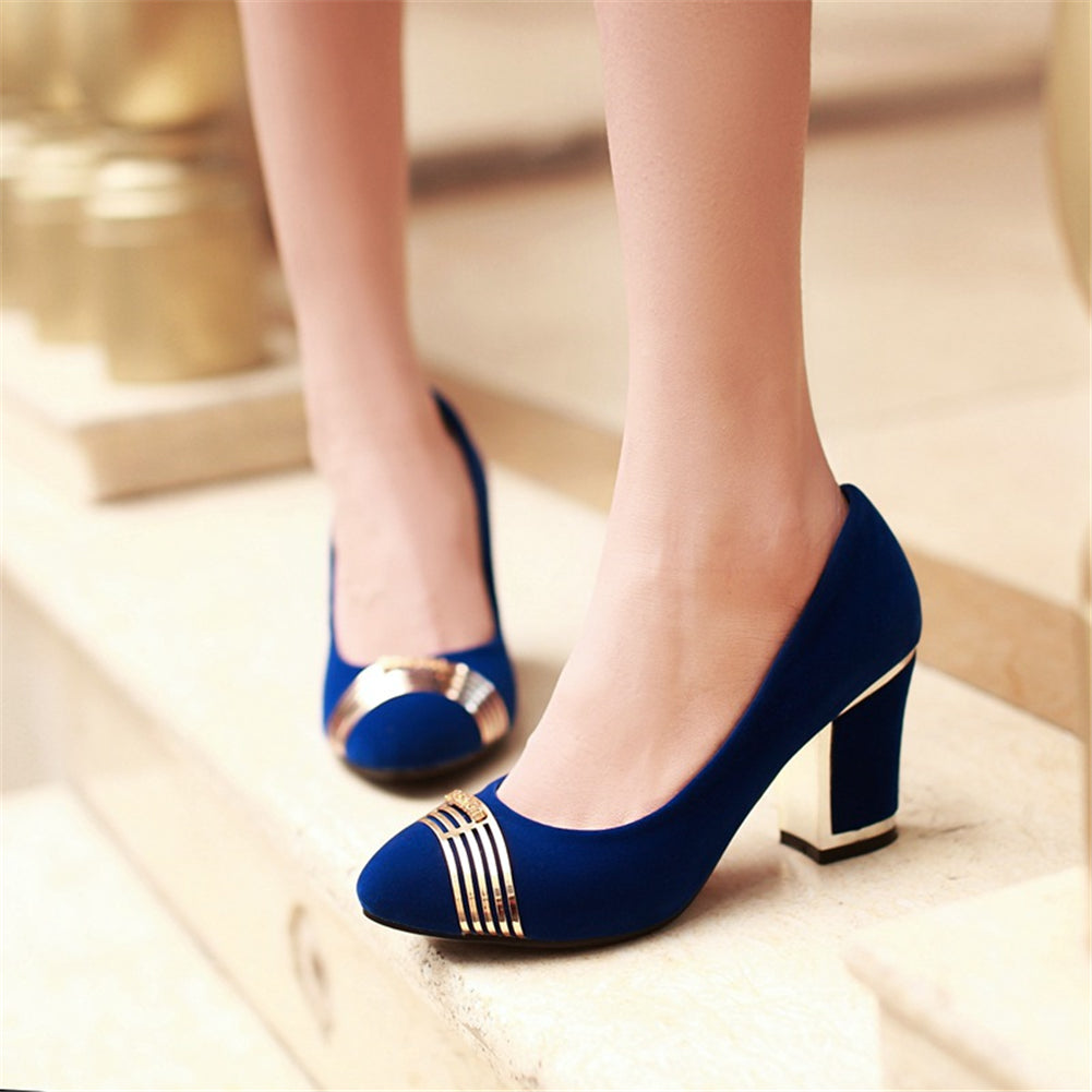Slip On Pointed Toe Party Wedding Pump