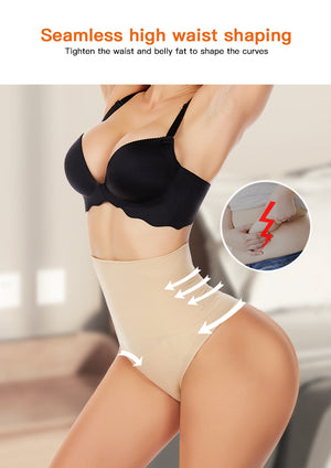High Waist Slimming Tummy Control Thong G-string Seamless Butt Lifter