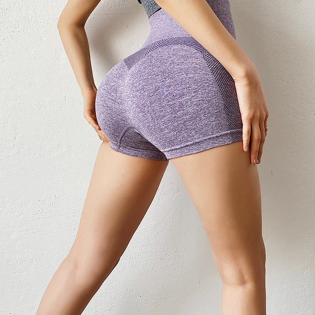 High Waist Seamless Scrunch Butt Shorts Sportswear