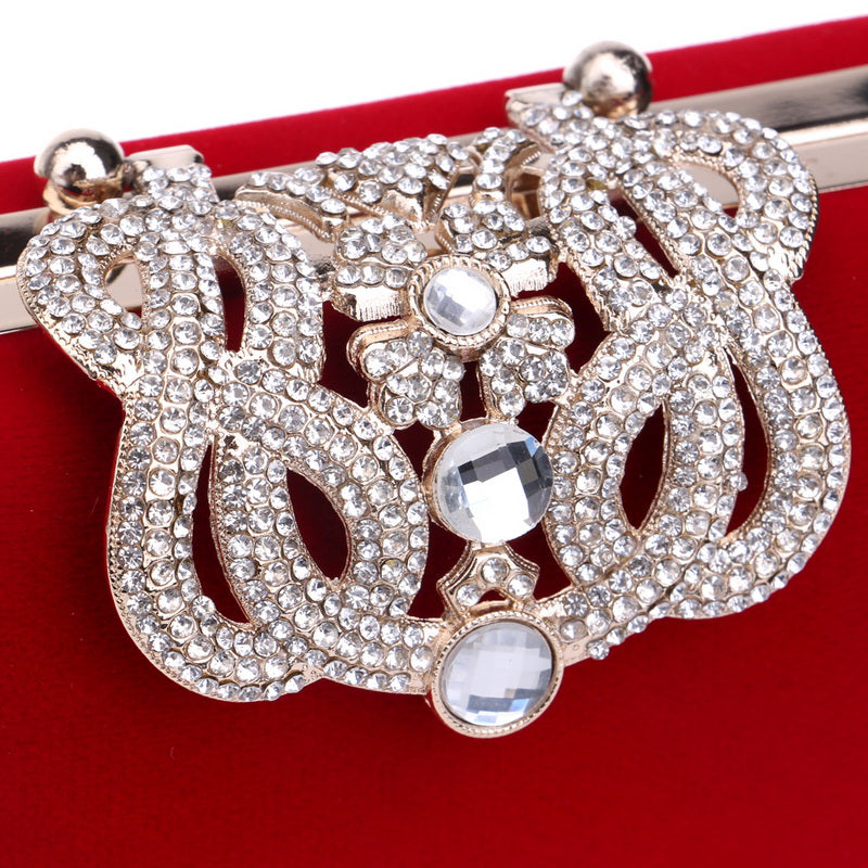 Crown Rhinestone Diamonds Shoulder Bag