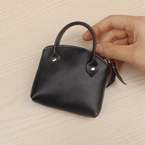 Zipper Key Coins Super Mini Handbag