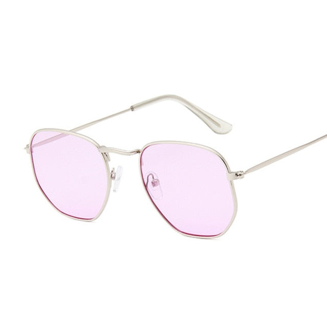 Small Acrylic Square Sunglasses