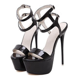 Gladiator Open Toe Party High Heel