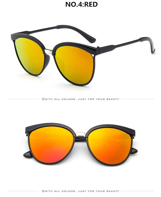 Plastic Luxury Cat Eye Sunglasses