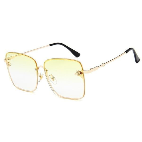 Small Bee Square Sunglasses