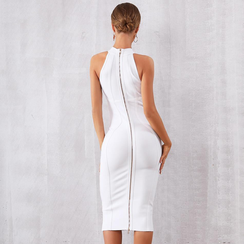 Sexy Sleeveless Club Celebrity Party Bodycon Dress
