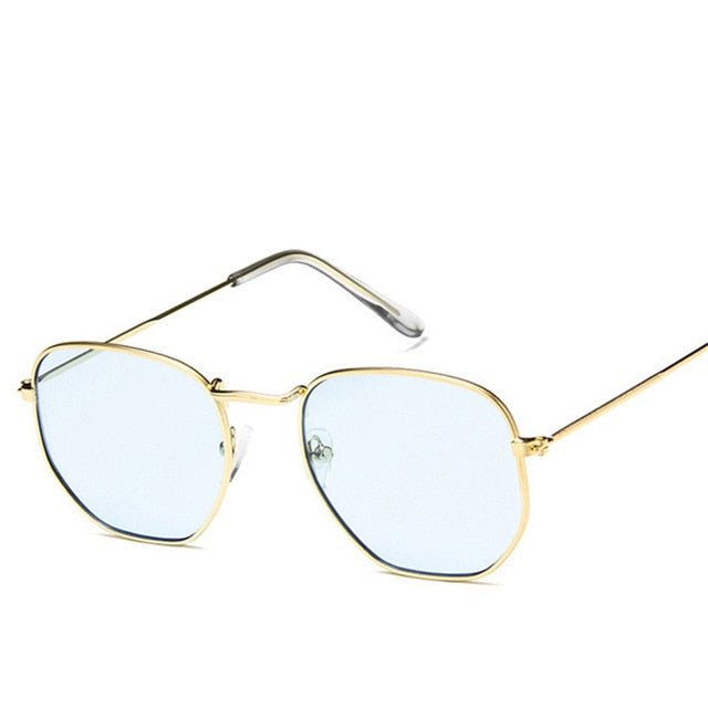 Luxury Metal Aviator Sunglasses