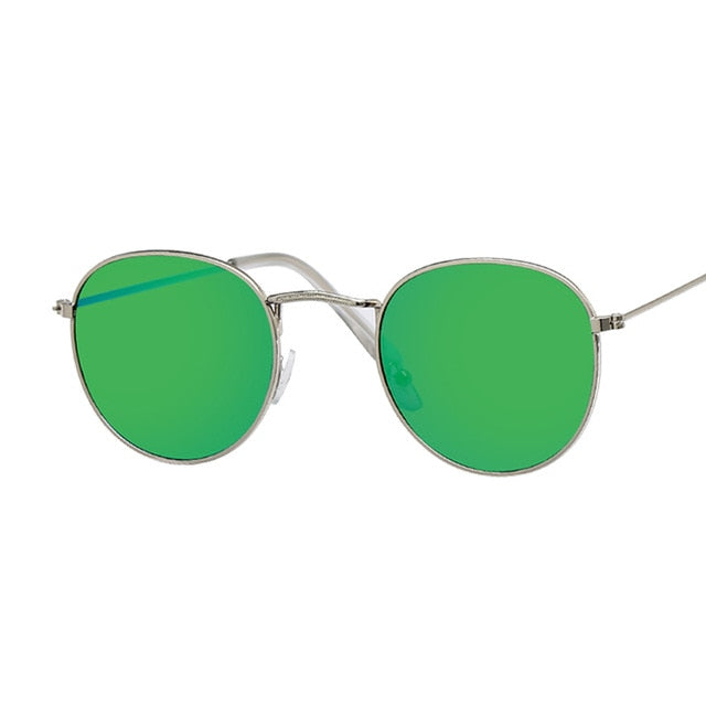 Oval Vintage Design Round Sunglasses