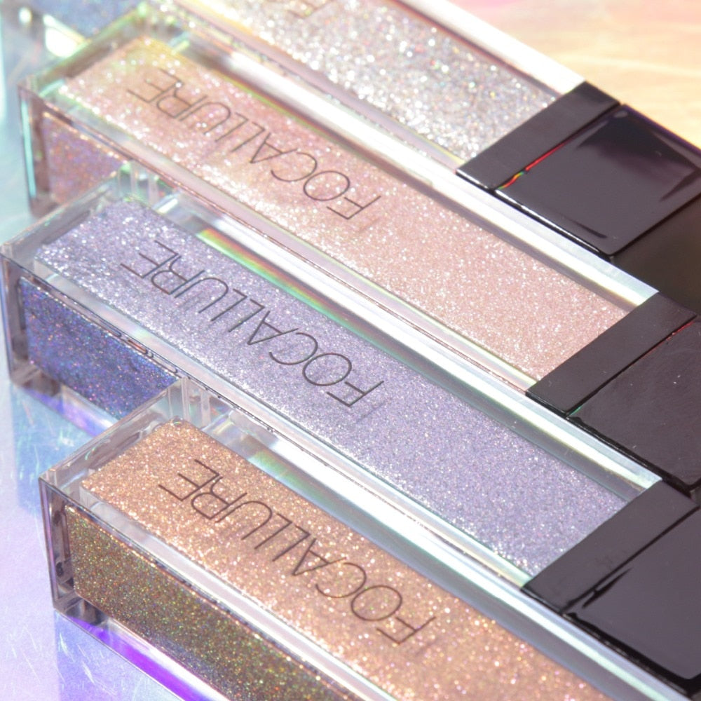 Shiny Metallic Pigment Waterproof Glitter Liquid Eye Shadow
