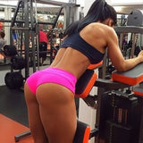 Fitness Workout Slim Belt Tight Shorts
