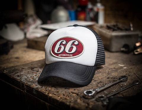 66 Mechanic Trucker Cap
