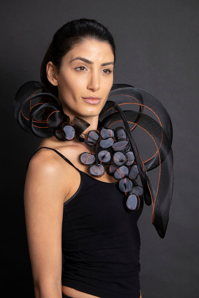 French Grape Neckpiece