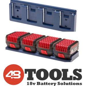 Bosch 18V 4 - Unit Battery Holder