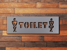 Load image into Gallery viewer, Restroom Sign Bathroom Sign Toilet