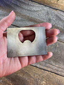 Wyoming State Bottle Opener