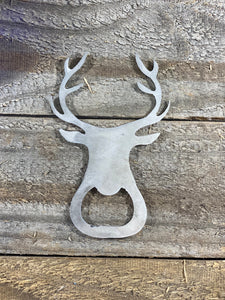 Deer Head Bottle Opener
