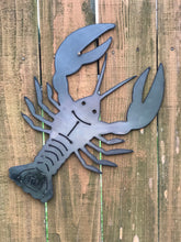 Load image into Gallery viewer, Metal Crawfish Wall Hanging Decoration | Crawfish Steel Sign