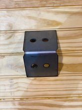 Load image into Gallery viewer, Shop Table DIY | Workbench Heavy Duty 6x6 Bent L Brackets for 6 x 6 Posts | Made In the USA!