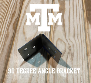 90 Degree Angle Bracket for 4x4 Wood Post, 4x4 Angle Bracket, Wood Post Bracket, Angle Support Bracket, 4 Inch Bracket