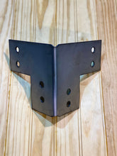 Load image into Gallery viewer, Shop Table DIY | Workbench Heavy Duty 6x6 Corner Brackets for 6 x 6 Posts | Made In the USA!