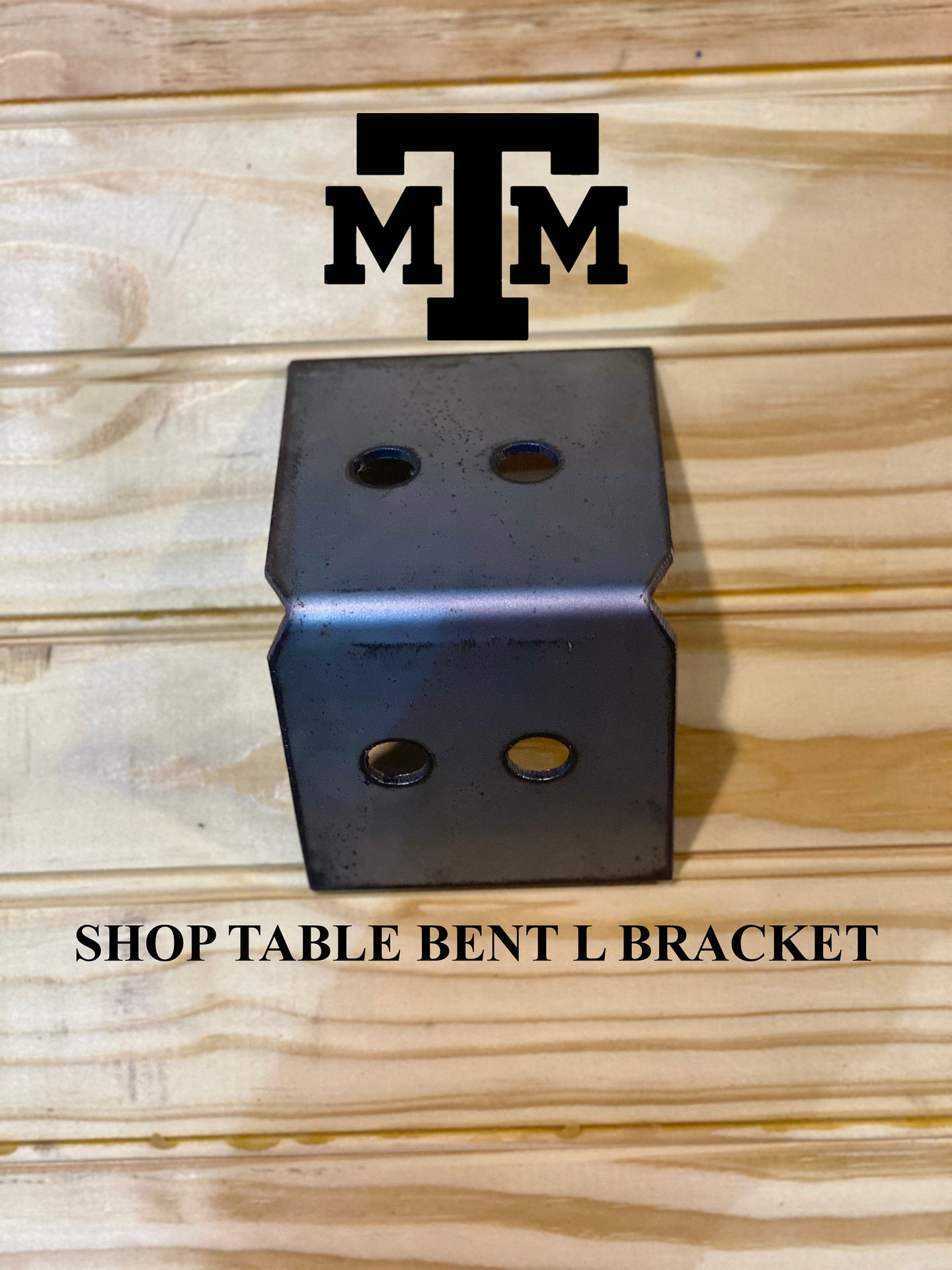 Shop Table DIY | Workbench Heavy Duty 6x6 Bent L Brackets for 6 x 6 Posts | Made In the USA!