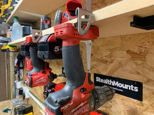 Load image into Gallery viewer, Stealth Mounts Tool Mounts for Milwaukee Tools - Milwaukee Tool Mount | Milwaukee Tool Holder | Milwaukee M18 Tool Mount
