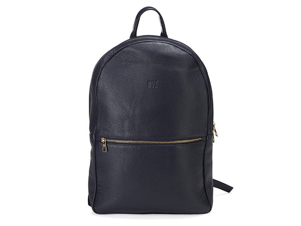 Leather Backpack Regular / Blue