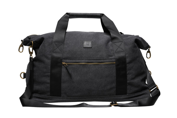 """Sydney"" Canvas Weekender / Anthracite"