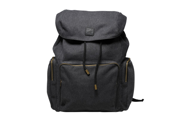 """Zermatt"" Canvas Hiking Backpack / Anthracite"