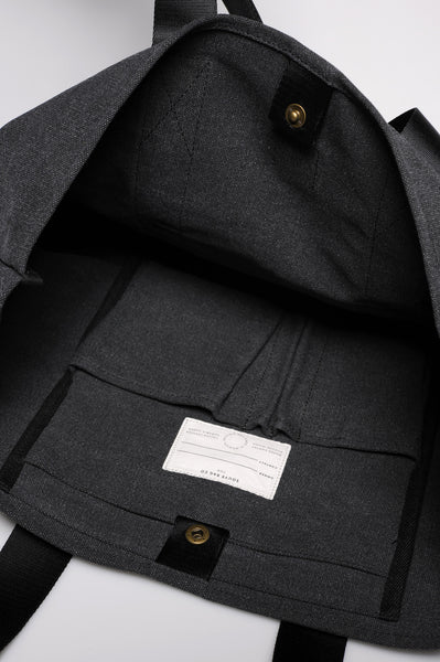 """Porto"" Canvas Carry All / Anthracite"
