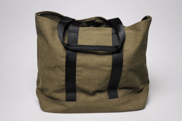 """Porto"" Canvas Carry All / Olive"