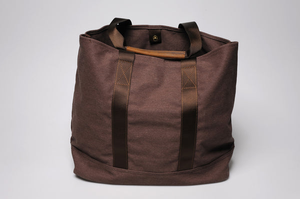 """Porto"" Canvas Carry All / Brown"
